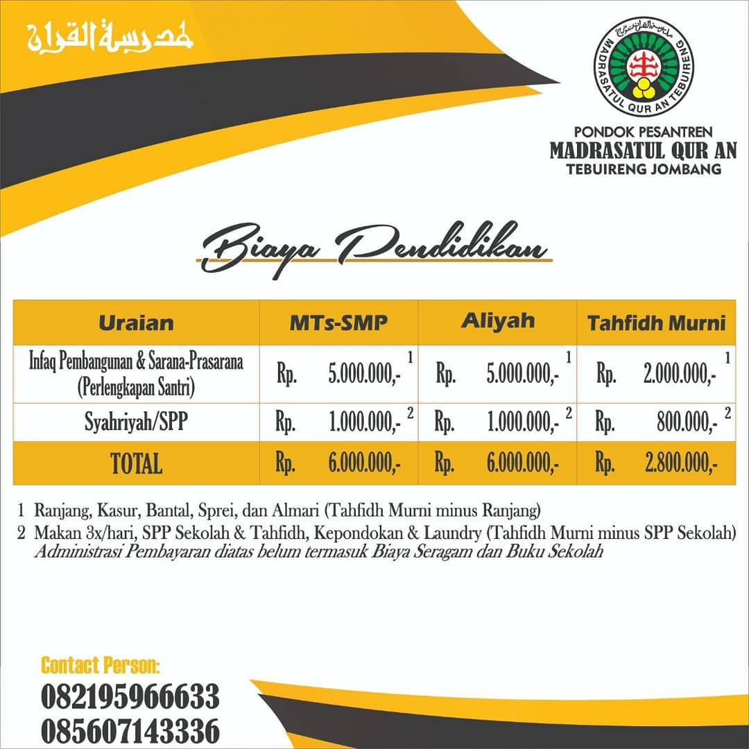 PPDB Biaya